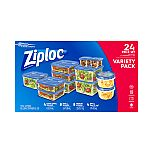 24-Count Ziploc Variety Pack Containers & Lids $6.78 (Org $18.78)