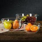 Mason Craft & More: 4-Pc Glass Soap Pump Set or 3-Pc Glass Bowl Set $5.88 and more