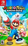 Mario + Rabbids Kingdom Battle $15.99 and more