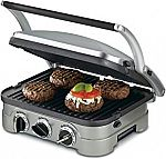 Cuisinart 5-in-1 Stainless Steel Multifunctional Grill $49.99