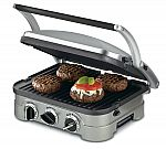Cuisinart Stainless Steel 5-in-1 Multifunctional Grill $49.99