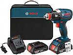 Bosch Freak 18V Brushless Cordless Impact Driver (2-Batteries Included) $129.50
