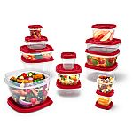 26-Piece Rubbermaid Easy Find Vented Lids Food Storage Containers $7