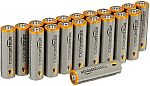 20-Pack AmazonBasics AA Alkaline Batteries $5.52