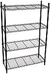 Honey-Can-Do Adjustable Storage Shelving Unit, 4-Tier, 36Lx14Wx54H $25