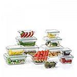 Member's Mark 24-Piece Glass Food Storage Set $20