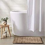 AmazonBasics Memory Foam Bath Mats (17in x 24in) from $4