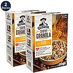 2-Pack Quaker Simply Granola Oats, Honey & Almonds, Breakfast Cereal, 28 oz $6.13