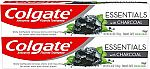2-Count 4.6oz Colgate Essentials Charcoal Teeth Whitening Toothpaste $4.75
