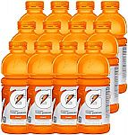 12-Pack 20-oz Gatorade Thirst Quencher (Orange) $6.21 and more