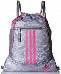adidas Alliance II Sackpack (Grey/Pink) $10 (Reg. $18)