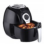 Avalon Bay Air Fryer Digital 2.65 Qt w/ Stainless Steel Basket $40 and more