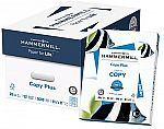 "2x Hammermill Copy Plus 8.5"" x 11"" Copy Paper, 10 Reams/Carton + filler $45.77"