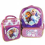 Frozen 2 Licensed Backpack with Lunch Bag $9.97 Shipped