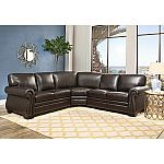 Blakely Top-Grain Leather Sectional by Abbyson Living $1699 Shipped