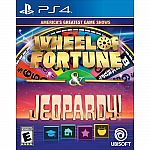 America's Greatest Game Shows: Wheel of Fortune & Jeopardy (PS4) $9.99