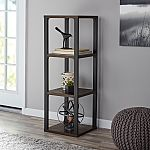 3-Cube Mainstays Clarendon Metal Frame Bookcase $15 (Was $45)