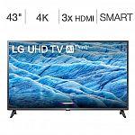 "LG 43"" 7 Series 4K UHD LED LCD TV $239.99"
