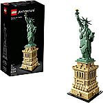 LEGO Architecture Statue of Liberty 21042 Building Kit (1685 Pieces) $101