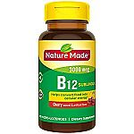 Extra 40% Off Nature Made Vitamins: 90-Count Nature Made Melatonin 5mg Tablets $2.55  & More