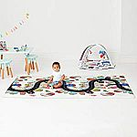 "Skip Hop Vibrant Village Reversible Waterproof Foam Baby Play Mat (86"" X 52"") $59 (Org $100)"