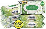 6-Pack of 42-Ct Cottonelle GentlePlus Flushable Wipes w/ Aloe & Vitamin E $6.85
