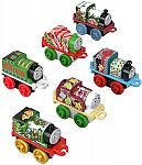 Thomas & Friends Fisher-Price MINIS, Advent Calendar [2018] (24 mini trains) $18
