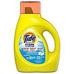 34-oz Tide Simply Clean Laundry Detergent $2