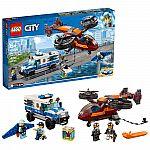 LEGO City Sky Police Diamond Heist 60209 Building Kit $38 and more
