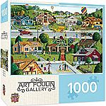 1000-Pc MasterPieces Hometown Gallery Jigsaw Puzzle (Bungalow) $6 (orig. $15)