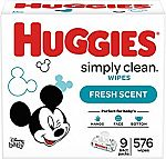 Amazon Buy 2 Select items, Save $5 Promotion: 1152-Ct Baby Wipes $16.75 & More