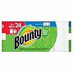 $10 Off $50 Bounty, Charmin, Tide, and more: 24 Bounty Triple Rolls Select-A-Size Paper Towels $49.53 and more