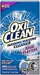 4-Count OxiClean Washing Machine Cleaner w/ Odor Blasters $3.22