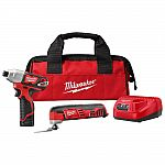 Milwaukee M12 12V Li-Ion Cordless Oscillating Multi-Tool and Impact Driver Combo Kit $99 (orig. $189)