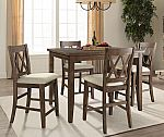 Oliver 5-Piece Counter-Height Dining Set $199 (Was $499) + Free Shipping