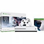 Microsoft Xbox One S Star Wars Jedi: Fallen Order Bundle (1 TB) - Open Box $158