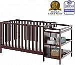 Storkcraft Pacific 4-in-1 Convertible Crib,  Changer, and Bed $109.99