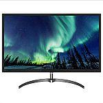 """Philips 326E8FJSB 32"""" 2K QHD VA Monitor $179.99"""