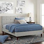 Better Homes & Gardens Knox Upholstered Platform Bed, King $141