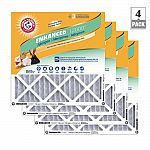Arm & Hammer FPR 6 Air Filter (4-Pack) $20 (45% Off)