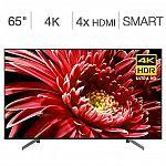 """Sony 65"""" Class - X850G Series - 4K UHD LED LCD TV $799.99"""