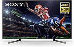 Sony X950G 75 Inch TV: 4K Ultra HD Smart LED TV with HDR and Alexa Compatibility - 2019 Model $1998