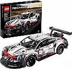 LEGO Technic Porsche 911 RSR 42096 Race Car Building Set (1580 Pieces) $124
