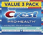 3-Pk 4.6-oz Crest Pro-Health Smooth Formula Toothpaste (Clean Mint) $4.89