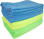"""36-Pack 16"""" x 12"""" Zwipes Microfiber Cleaning Cloths $11.61"""