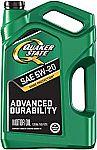 Havoline SMART CHANGE ProDS 5W-20 Full Synthetic Motor Oil, 6 qt. $13, 5-Qt Quaker State $7.55
