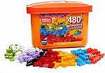 480-pc Mega Construx Open-Ended Play Brick Box $9.09