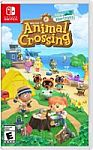 Animal Crossing: New Horizons - Nintendo Switch + $10 Reward $60