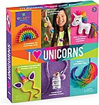 188-Pc Kids' Craft-tastic 'I Love Unicorns' Craft Kit w/ 6 Unicorn Themed Projects $9.78