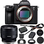 Sony a7 III Mirrorless 4K Camera's: Body $1,798 and more